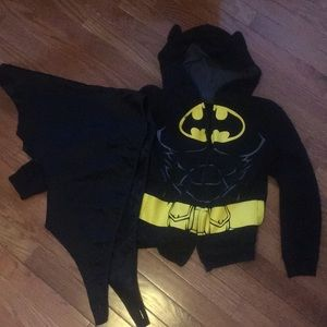Other - Batman hoodie with cape